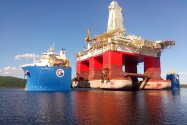 ПБПУ «Северное сияние» прибыла в порт Мурманска
