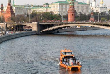 Речные маршруты в Москве будут запускать поэтапно