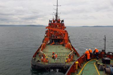 Морспасслужба проводит конкурс на поставку буксирного судна