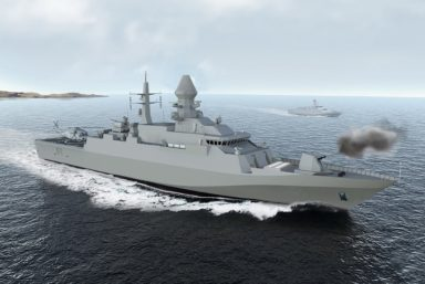 ВМС Туркменистана ввели в строй новый корвет Deniz Han турецкого проекта C92