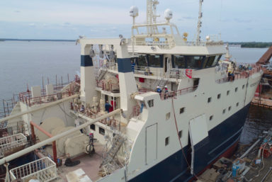 Готовность траулера «Норвежское море» проекта КМТ01 составляет более 98%