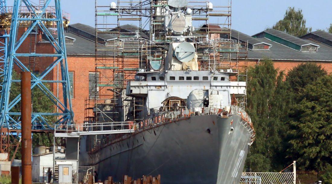 Сторожевой корабль «Неустрашимый» проекта 11540 получил второй форсажный двигатель