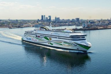 На верфи Rauma Marine Constructions спустят на воду паром Tallink MyStar