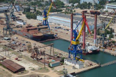 Керченский судостроительный завод «Залив» в Керчи будет модернизирован