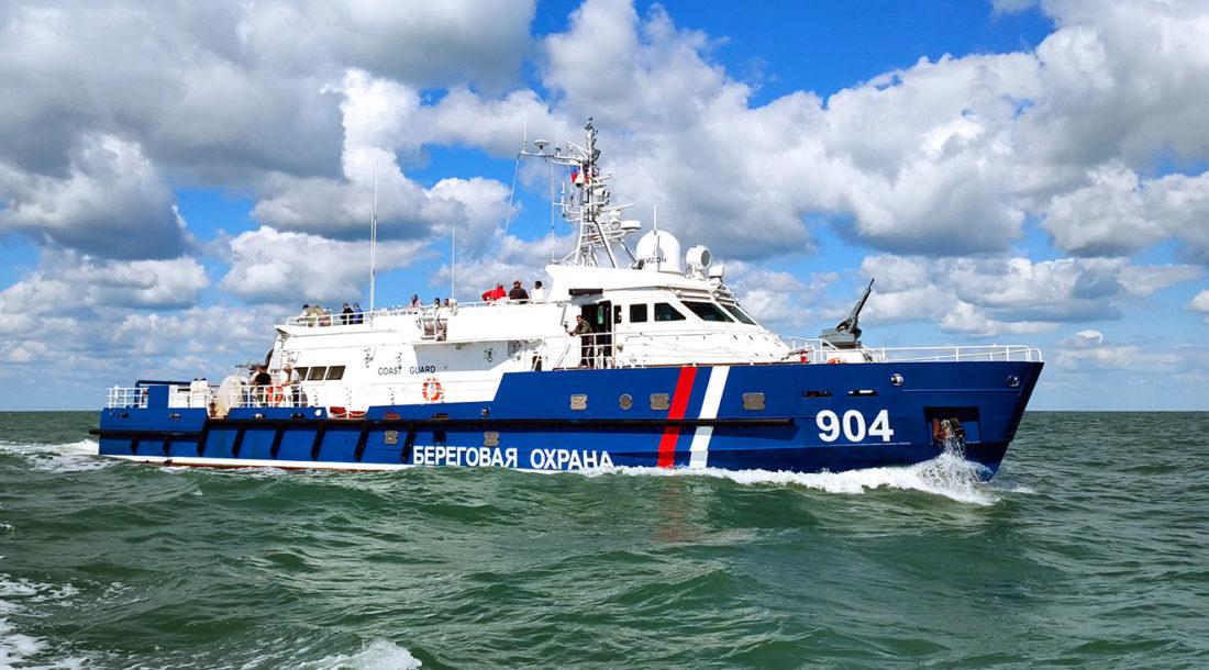 ССЗ «Вымпел» сдал заказчику патрульный катер проекта 1496М1
