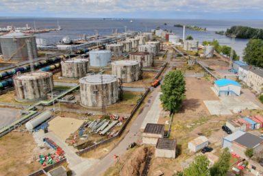 Петербургский нефтяной терминал почти в 2 раза увеличил грузооборот за пять лет