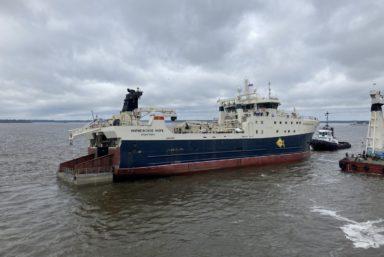 Траулер «Норвежское море» проекта КМТ01 вышел на ходовые испытания