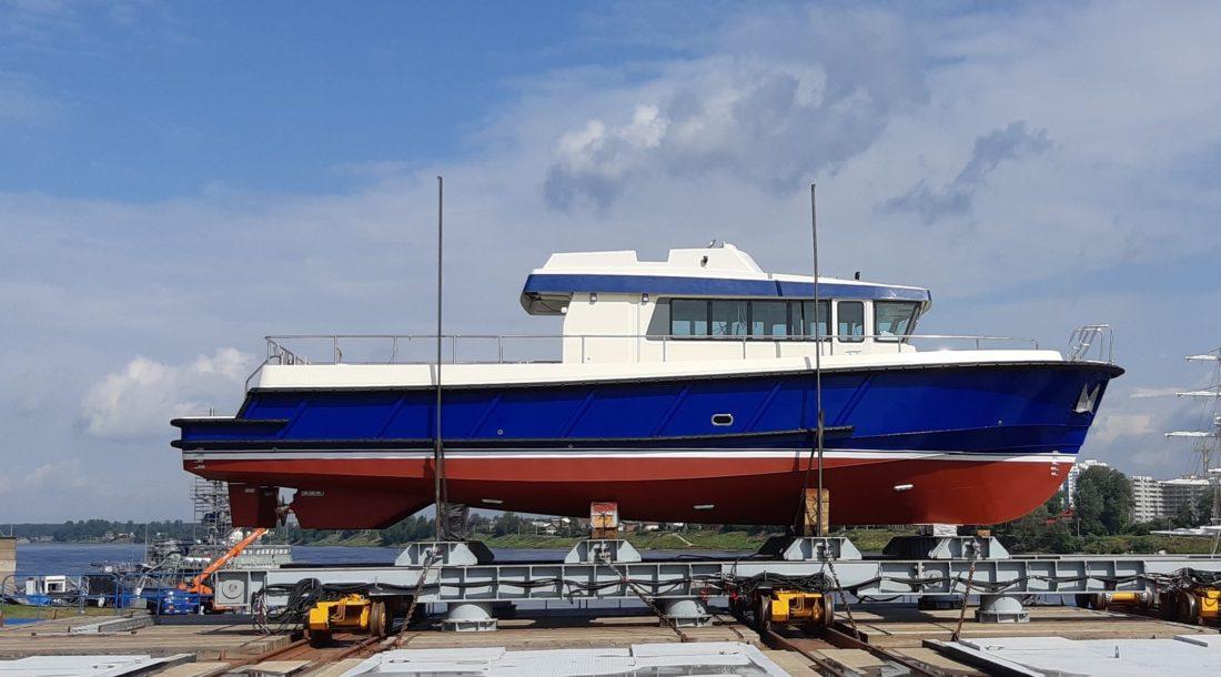 На СНСЗ завершились ходовые испытания катера проекта Р1650 «Рондо»