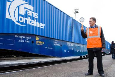 «ТрансКонтейнер» запустил регулярный сервис из Китая в Ростов-на-Дону через Находку