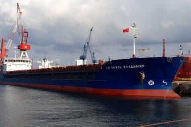 Волжское пароходство перевезло негабаритное оборудование для строительства СПГ-терминала в Белокаменке