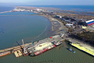 В морском порту Кавказ реконструирован морской пункт пропуска через государственную границу